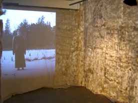 cold song, audio and video installation